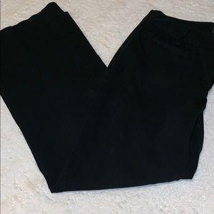 Eddie Bauer black chino pants